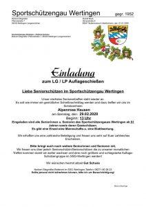 thumbnail of Einladung Alpenrose Hausen 02-2020